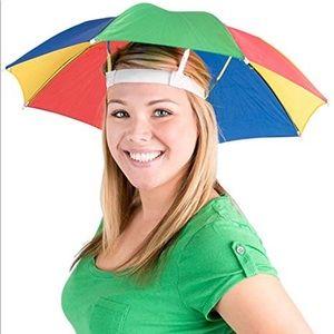 Accessories - Rainbow Umbrella Hat
